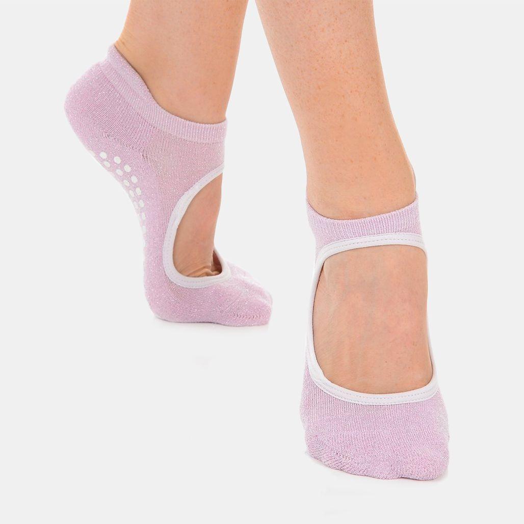 Great Soles Women's Isabella Grip Socks - Pink