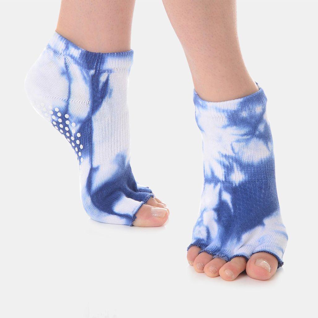 Great Soles Women's Half Toe Grip Socks - Multi