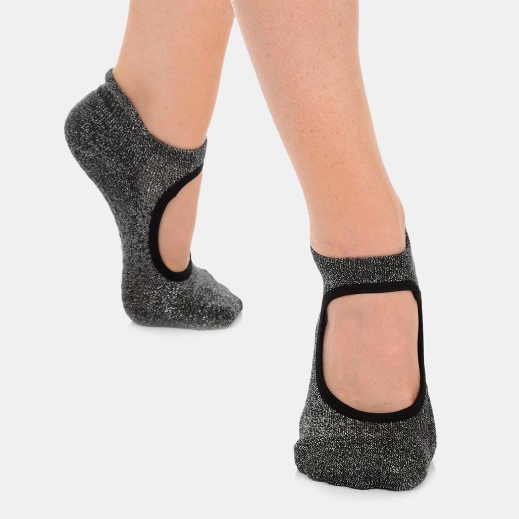 Great Soles Women's Isabella Grip Socks - Black