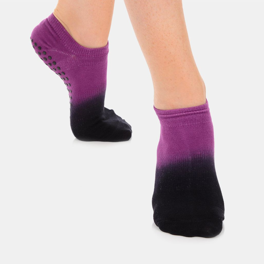 Great Soles Women's Ombre Grip Socks - Pink