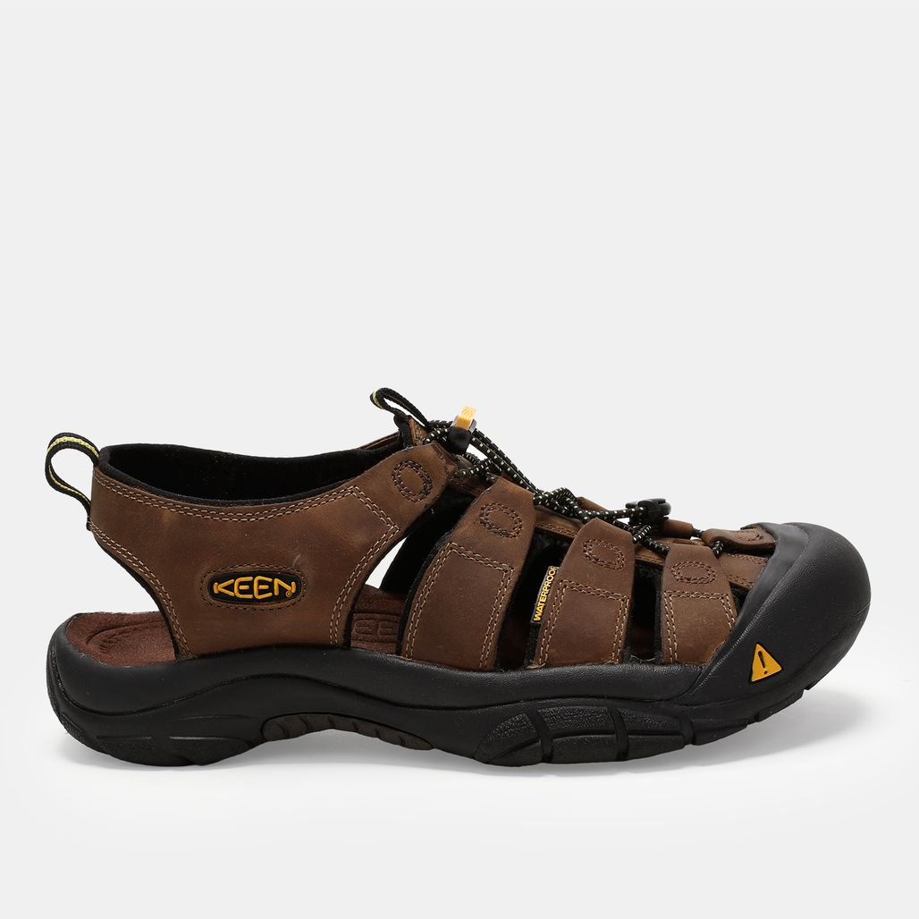 Keen Newport Bison Hybrid Leather Sandals