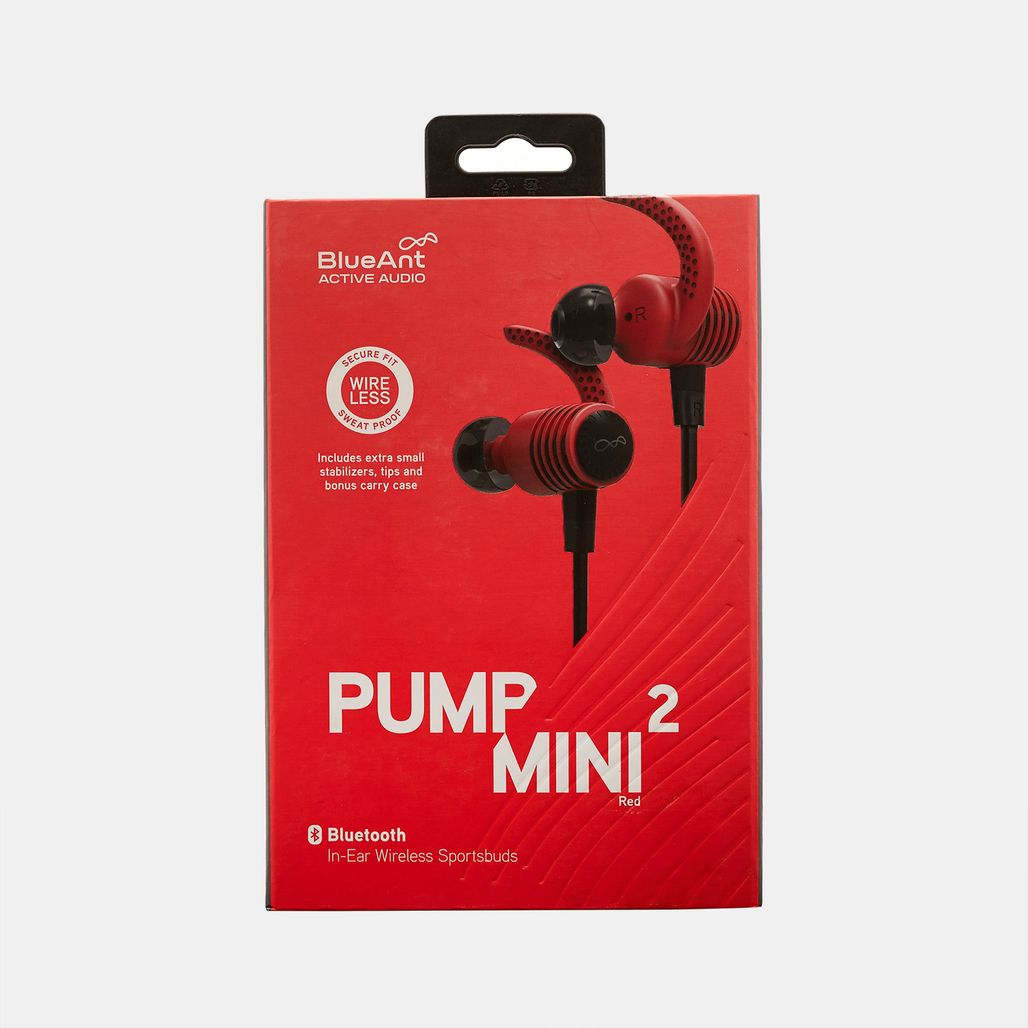 BlueAnt Pump Mini 2 In-Ear Wireless Sportsbuds - Red