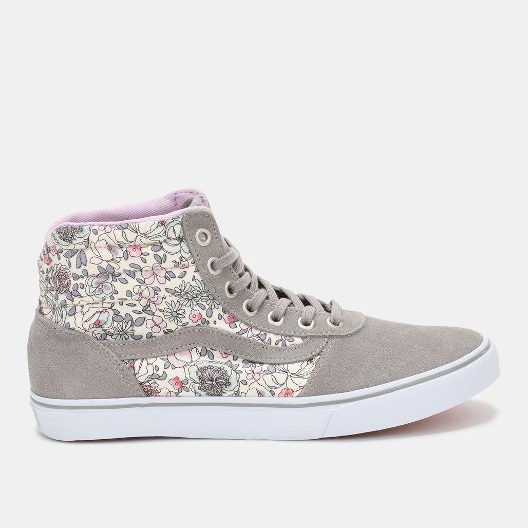 Vans Floral Milton Hi-Top Shoe
