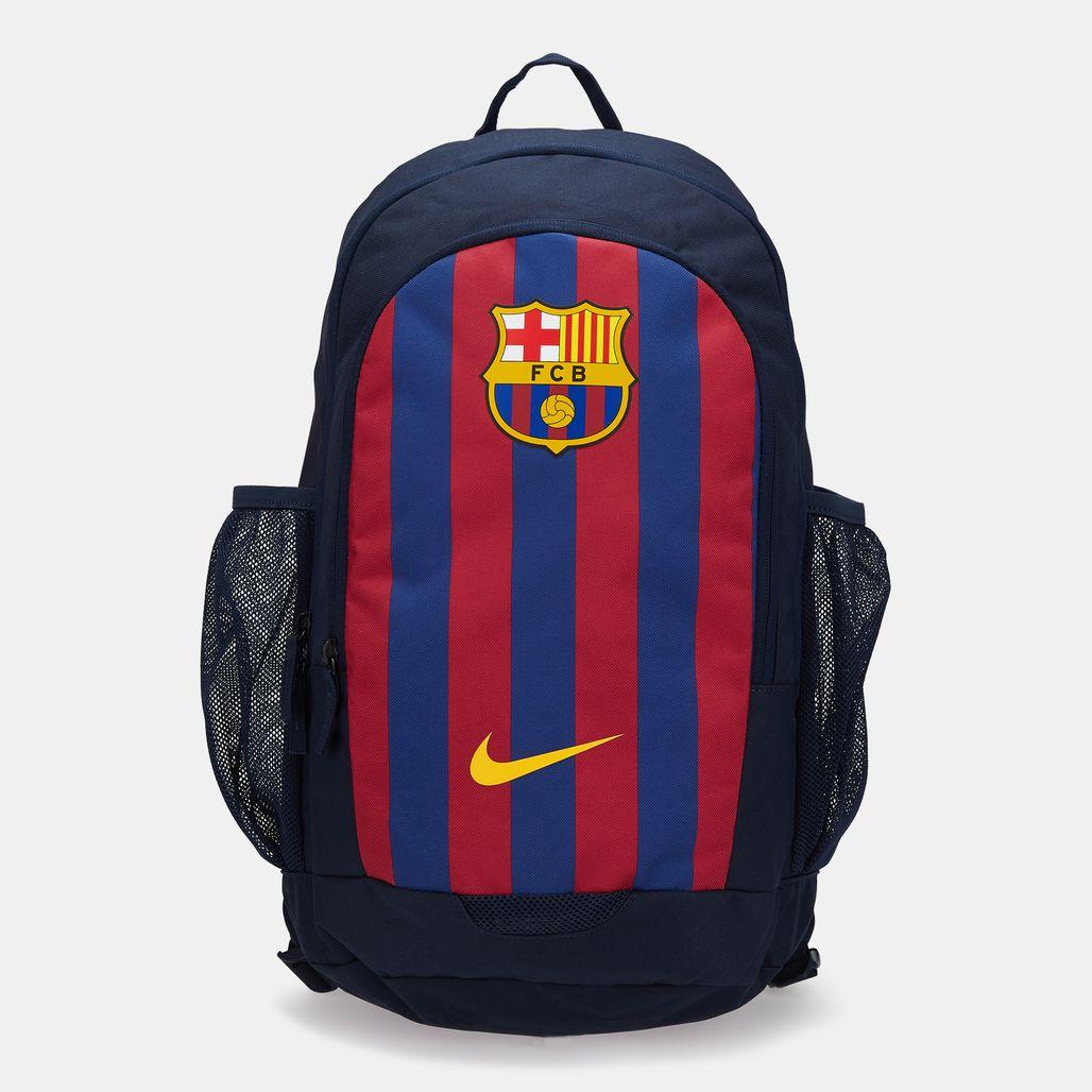 Nike Men's FC Barcelona Stadium Football Backpack - Blue