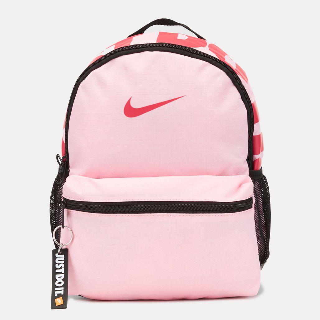 Nike Kids' Brasilia Just Do It Backpack (Mini) (Older Kids) - Pink