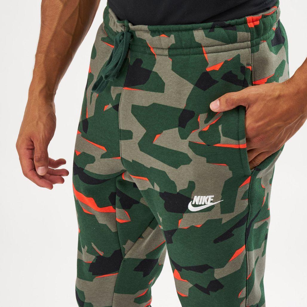 62fd34e0258743 Nike Men's Sportswear Camo BB Jogger Pants | Track Pants | Pants ...