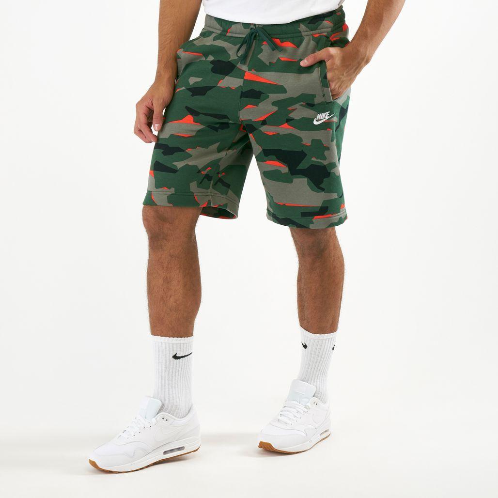 Nike Men's Sportswear Club Camo Shorts