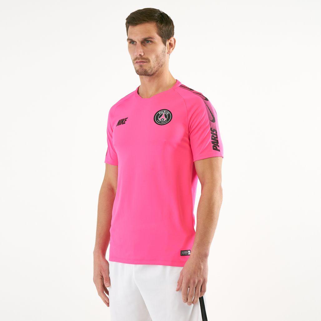 Nike Men's Breathe Paris Saint Germain Squad Football T-Shirt