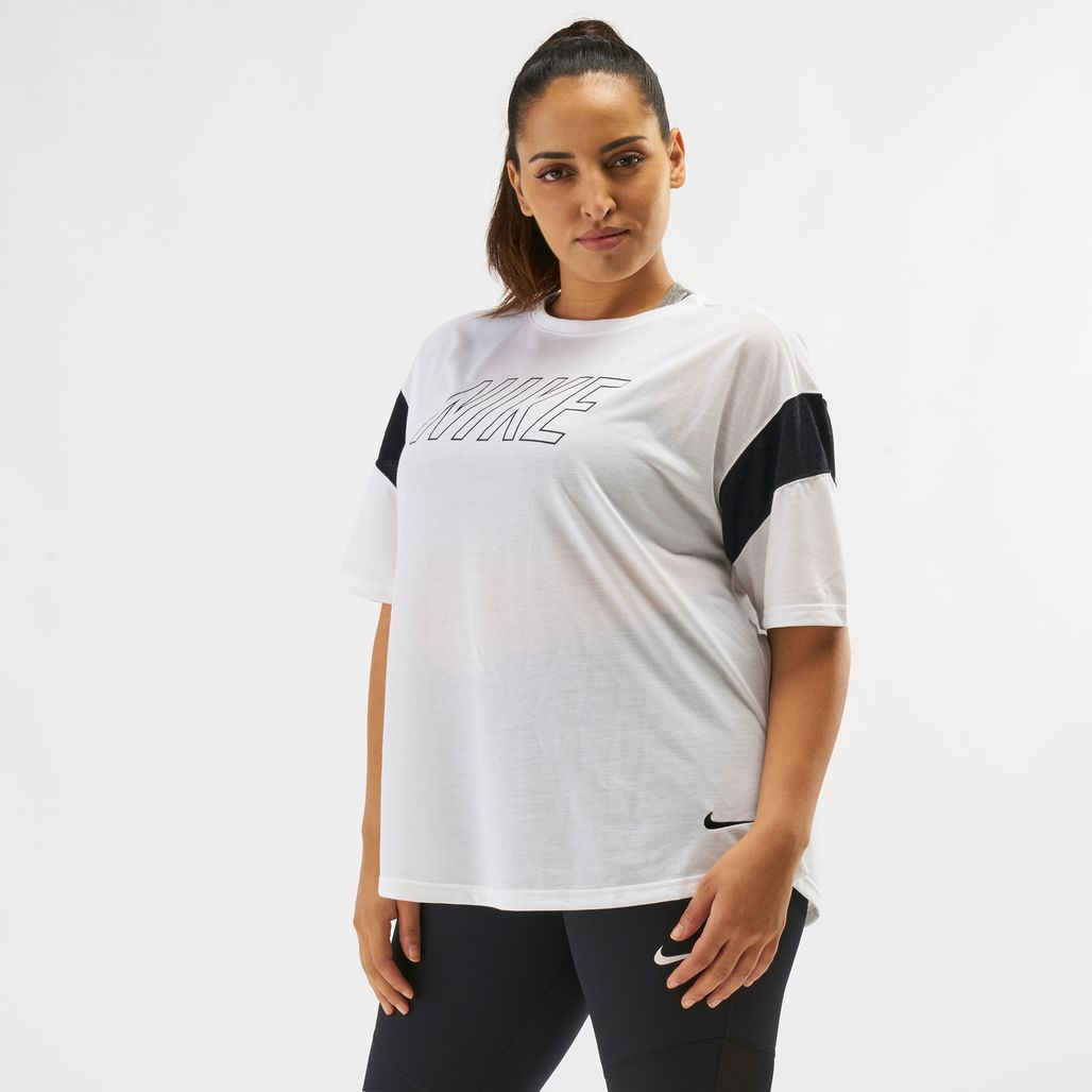 Nike Dry Graphics T-Shirt (Plus Size)