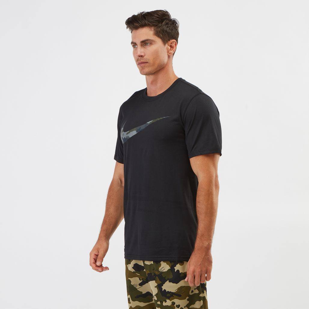 Nike Dry Legend Camo Swoosh T-shirt