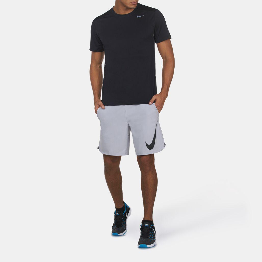 nike men's 9'' freedom running shorts