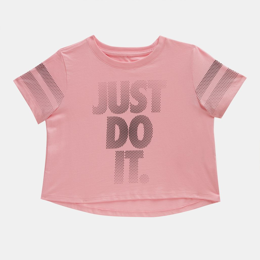 Nike Kids' Sportswear Cropped T-Shirt (Older Kids)