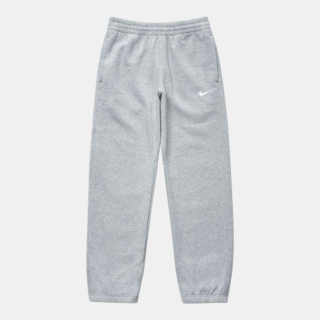 Nike Kids' Brushed Fleece Cuffed Sweatpants