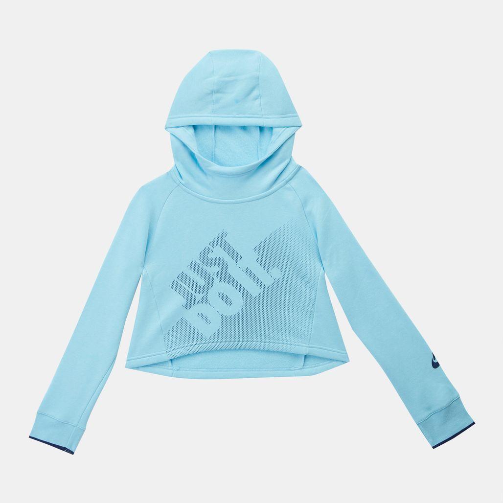 Nike Kids' Sportswear Cropped Pullover Hoodie (Older Kids)
