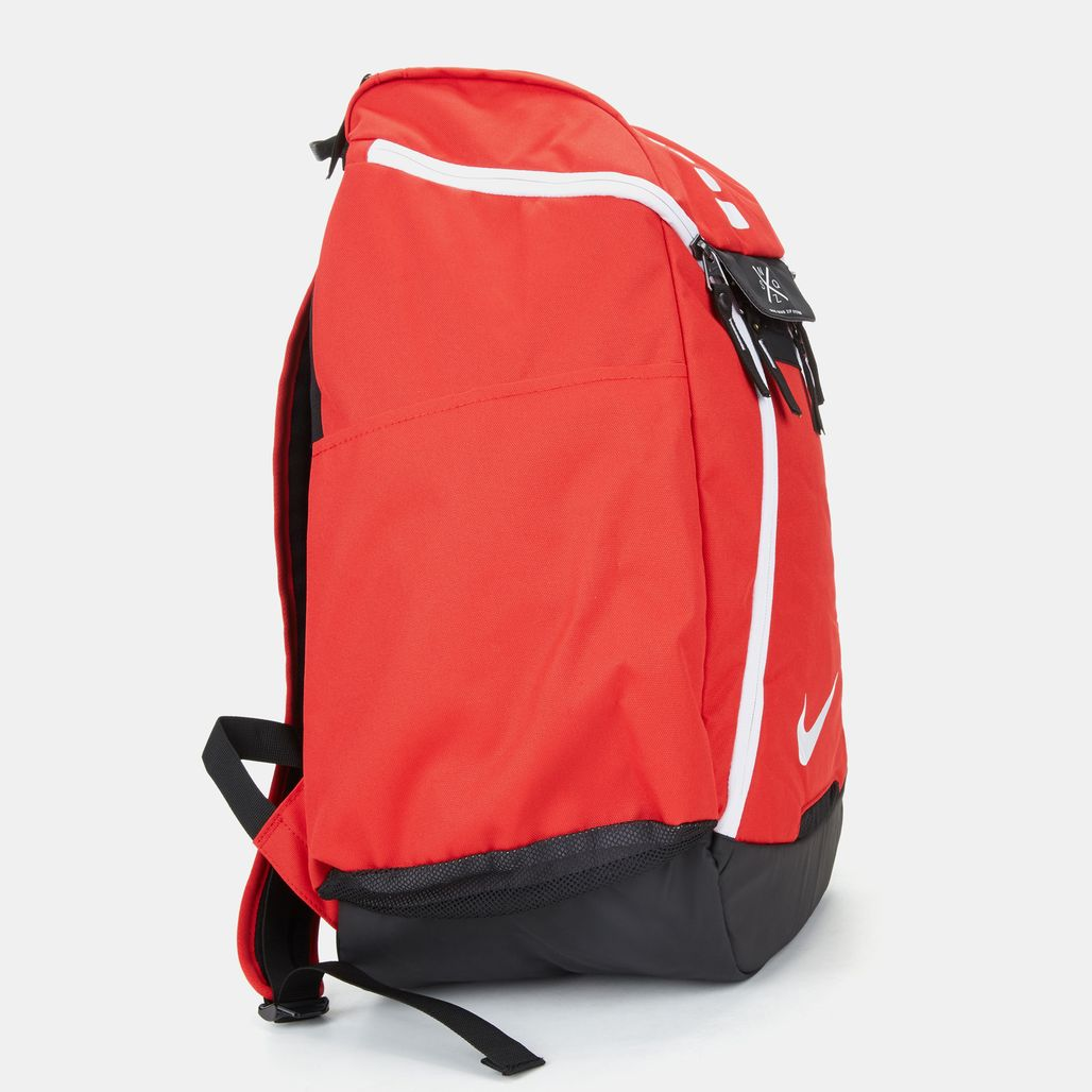Shop Red Nike Hoops Elite Max Air 2.0 Basketball Backpack ...
