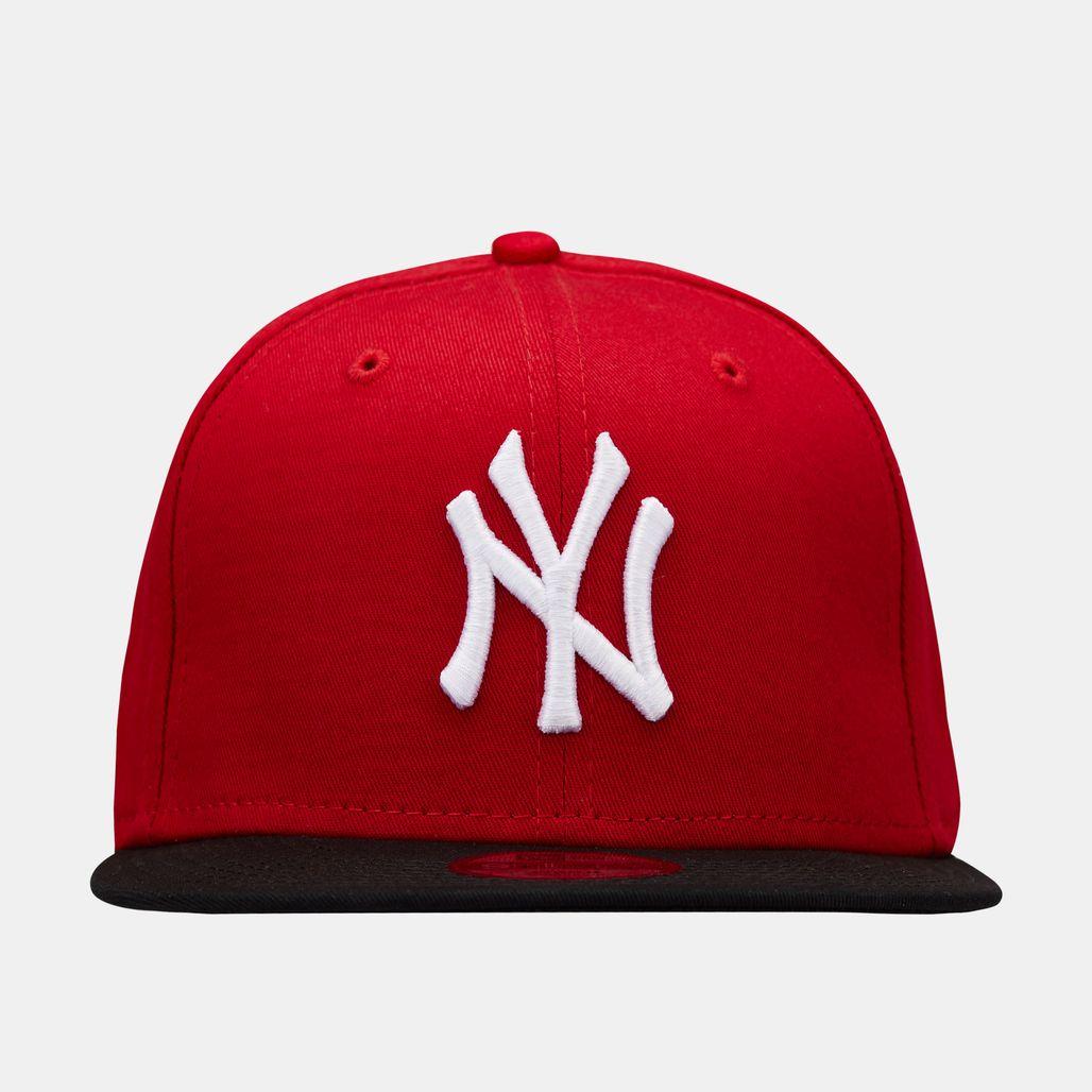 New Era Kids' MLB New York Yankees 9 FIFTY Cap (Older Kids) - Red