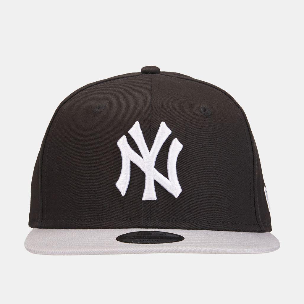 New Era Kids' MLB New York Cotton Block 9FIFTY Cap - Black