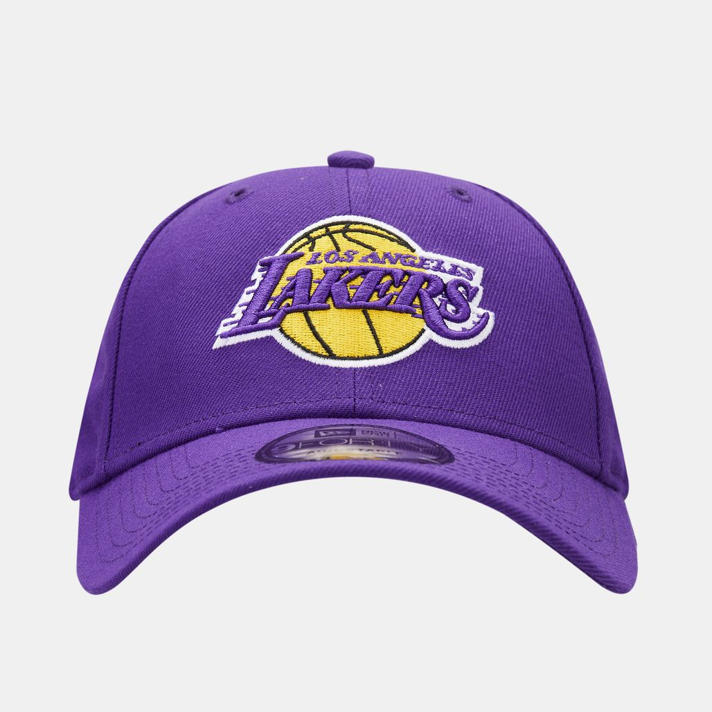 New Era Men's NBA Los Angeles Lakers 9Forty Adjustable Cap - Purple