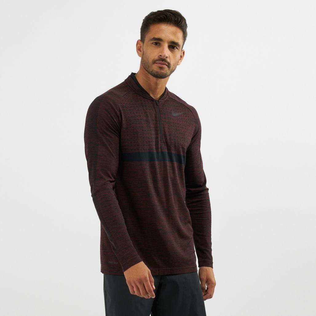 Nike Golf Dri-FIT Half-Zip T-Shirt