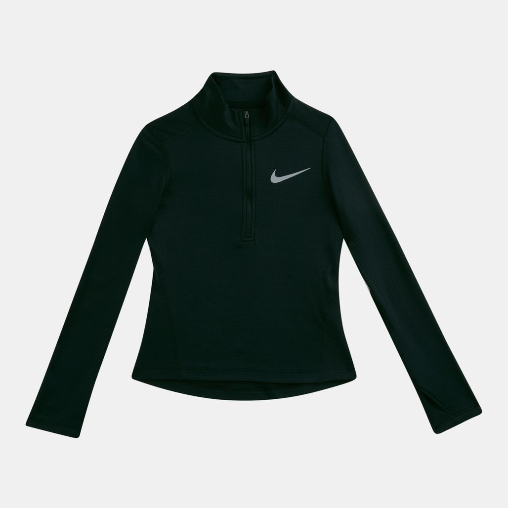 Nike Kids' Run Half Zip Long Sleeve T-Shirt (Older Kids)