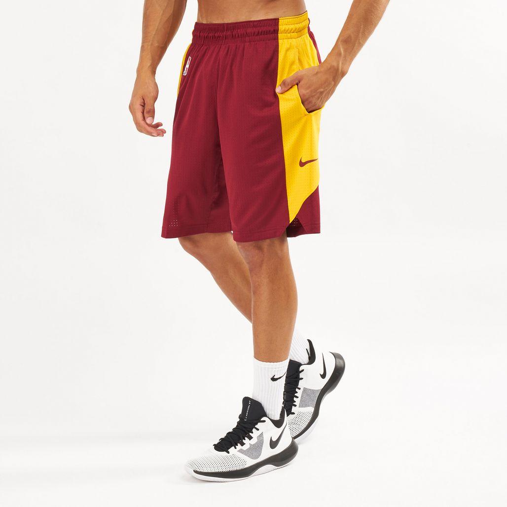 Nike Men's NBA Cleveland Cavaliers Practice Shorts- 2018