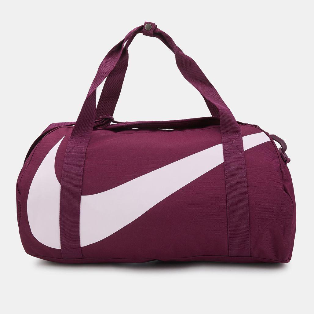 Nike Kids' Gym Club Duffel Bag (Older Kids) - Red
