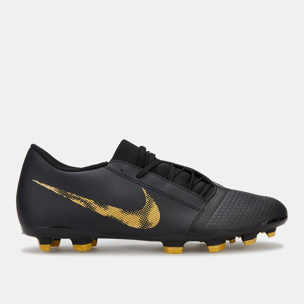 Nike Men's Black Lux Phantom Venom Club Firm Ground Football Shoe