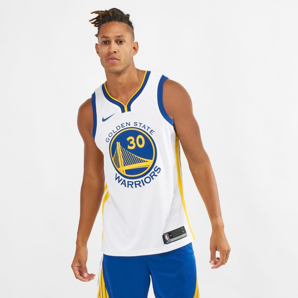 Nike NBA Golden State Warriors Stephen Curry Association Edition Swingman Jersey