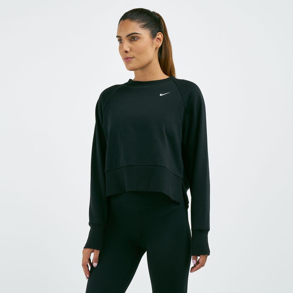 Nike Women's Dri-FIT Long-Sleeve Yoga T-Shirt