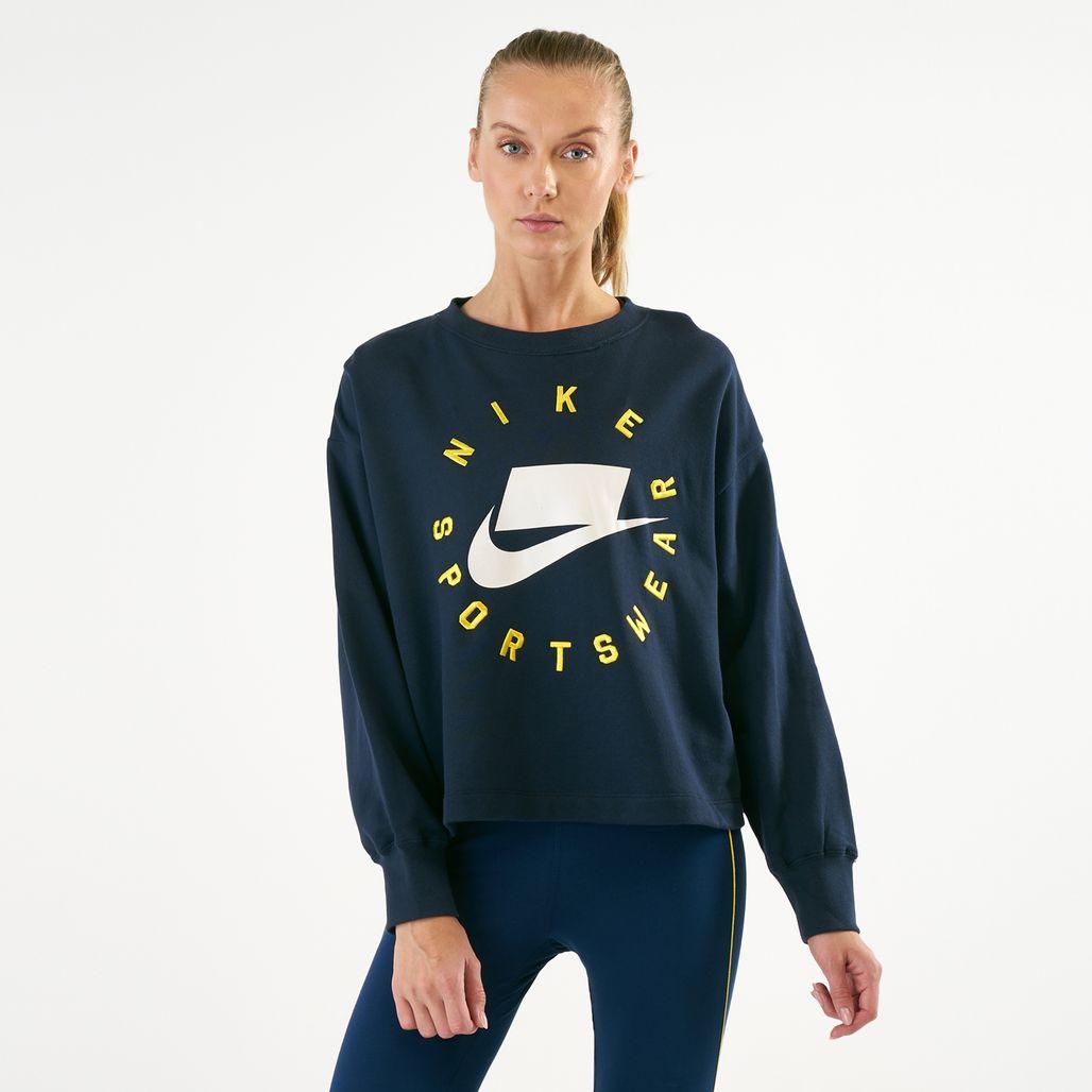 Nike Women's Sportswear French Terry Crew Sweatshirt