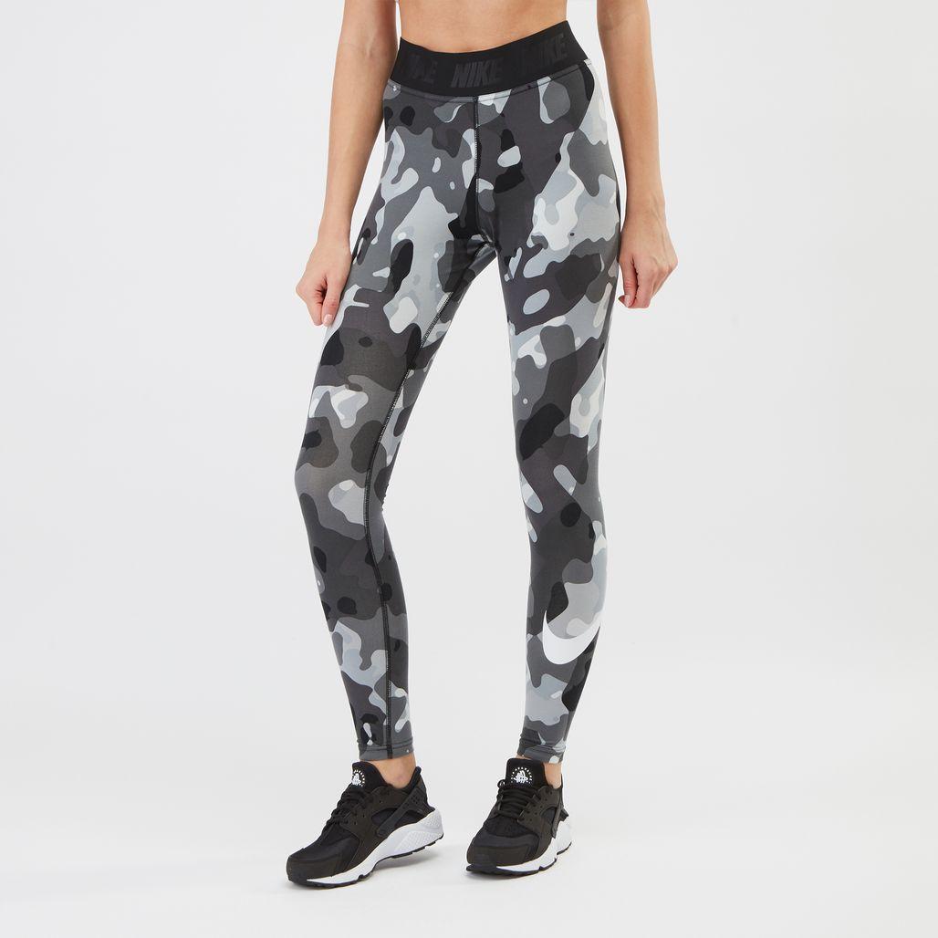 Nike Swoosh Camo Leggings