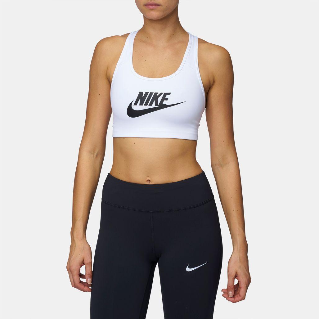 Nike Classic Swoosh Futura Sports Bra