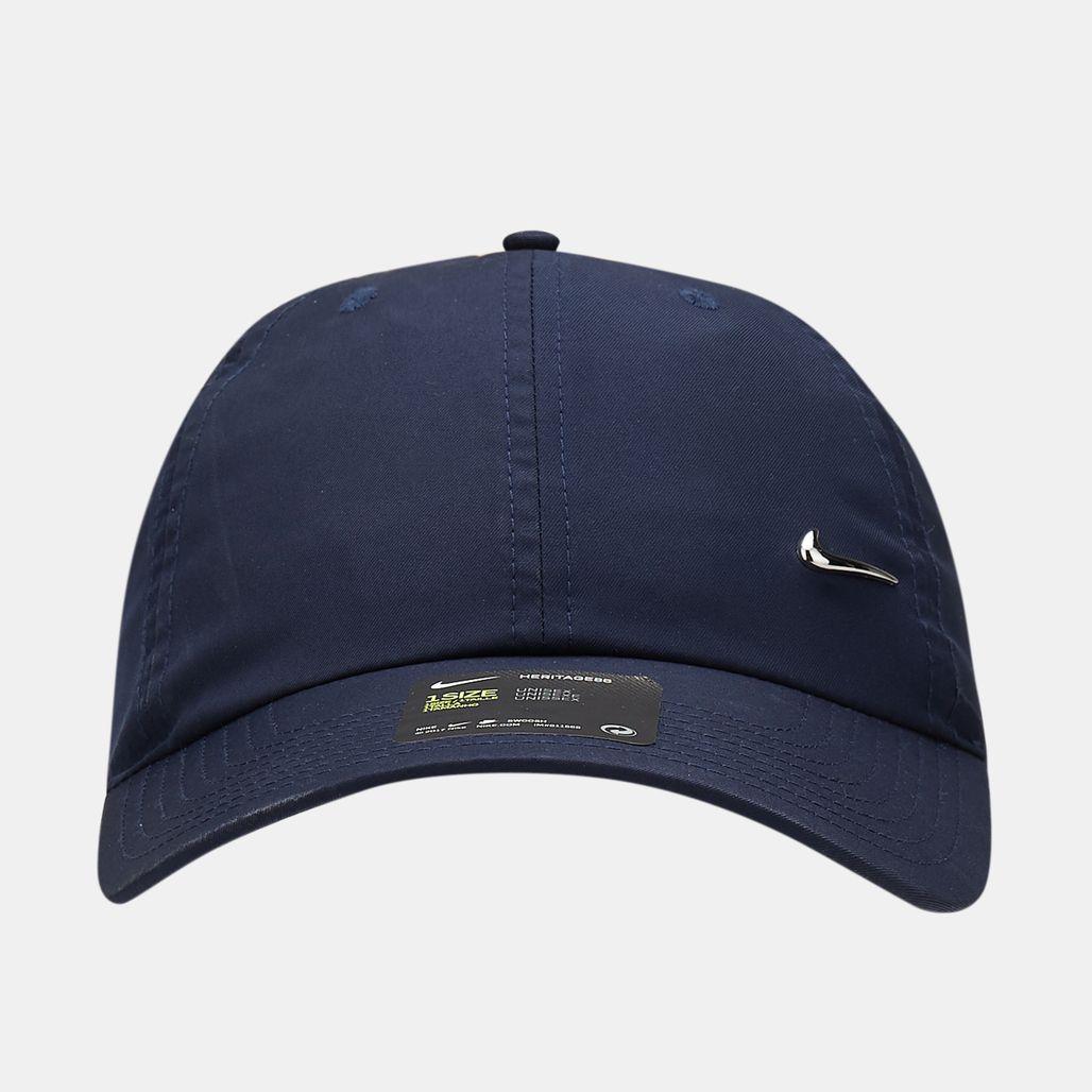 Nike Unisex Heritage86 Metal Swoosh Cap - Blue