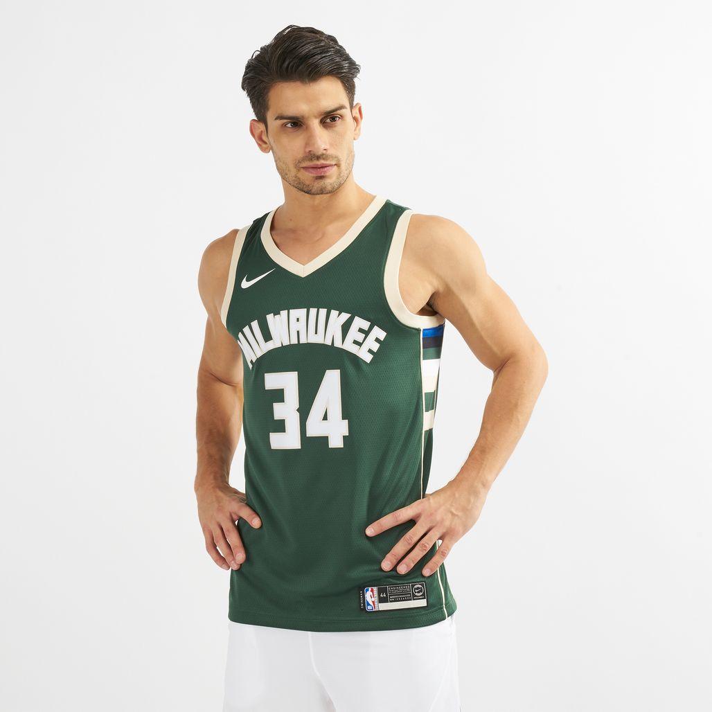 Nike NBA Milwaukee Bucks Giannis Antetokounmpo Swingman Jersey