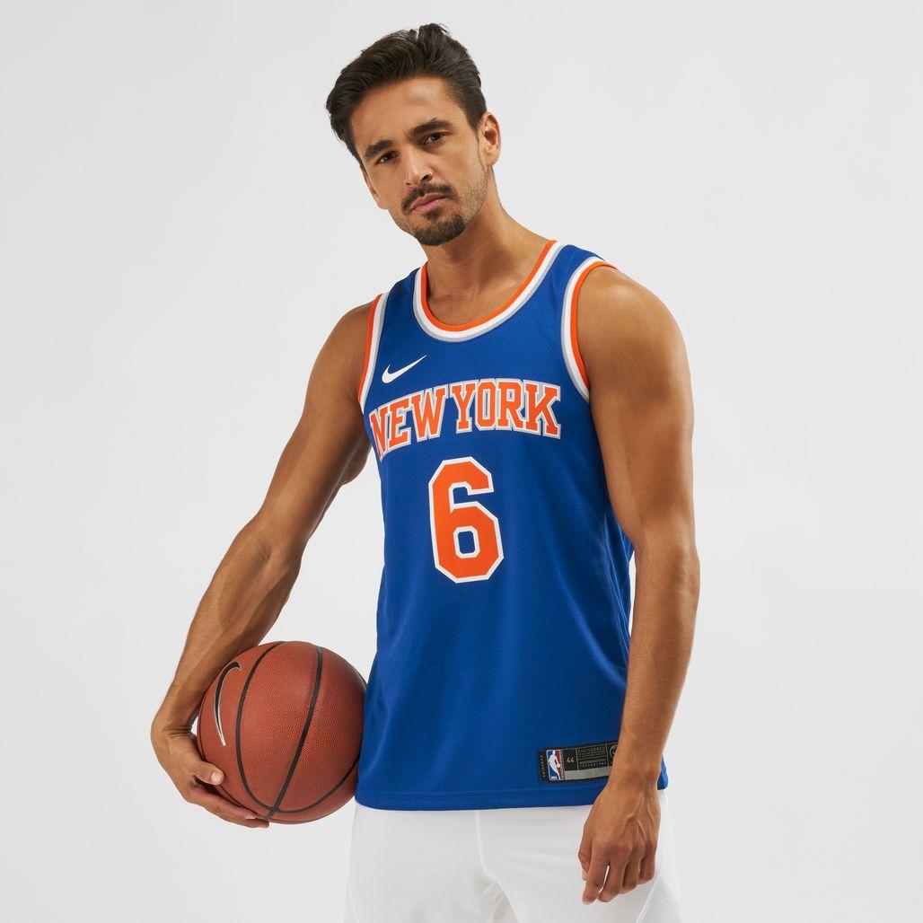 Nike NBA New York Knicks Kristaps Porzingis Swingman Jersey