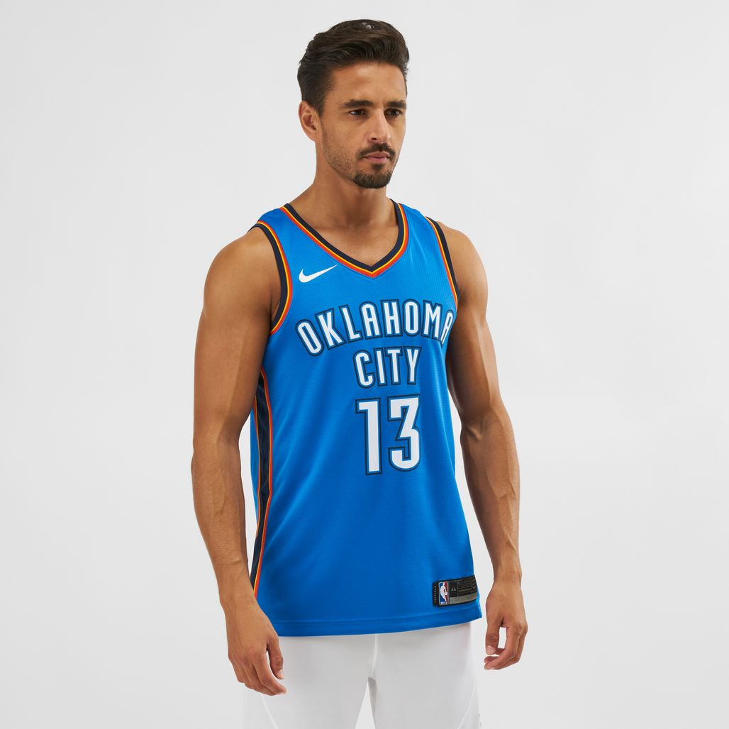 Nike NBA Oklahoma City Paul George Icon Edition Swingman Jersey