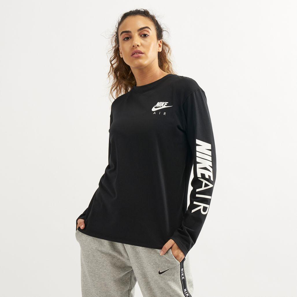 Nike Air Women's Sportswear Long-Sleeve T-Shirt