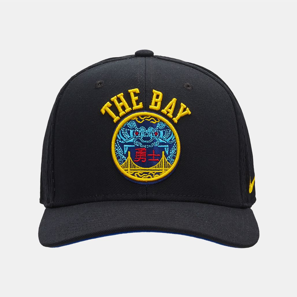 0a7518a18037a Nike NBA Golden State Warriors City Edition Classic99 Cap - Black