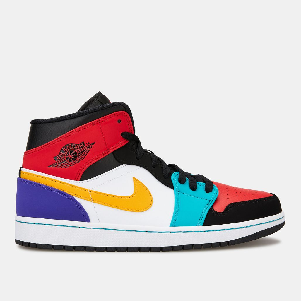 Jordan Men's Air Jordan 1 Mid Shoe - Multi