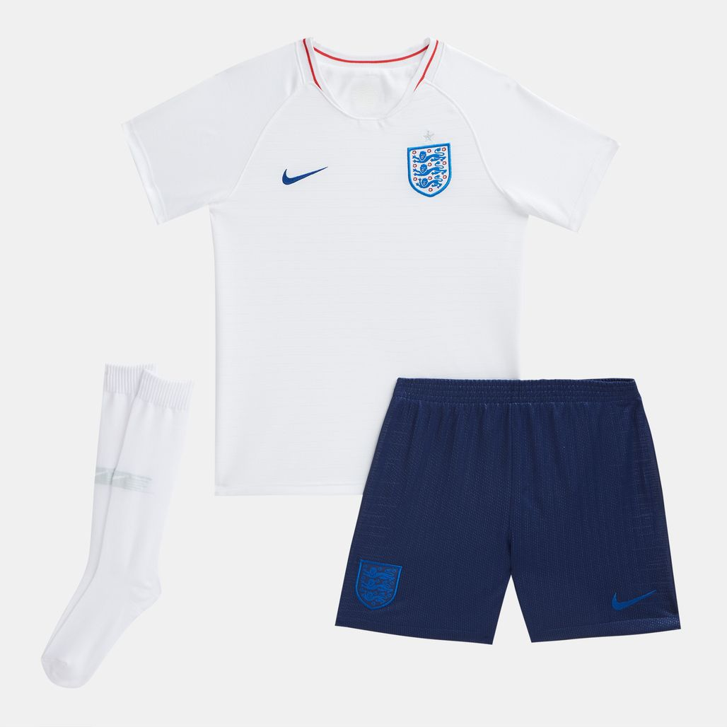 Nike Kids' England Stadium Home Football Kit 2018 (Younger Kids)