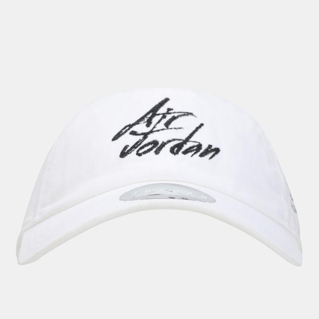Jordan Heritage86 Script Cap - White