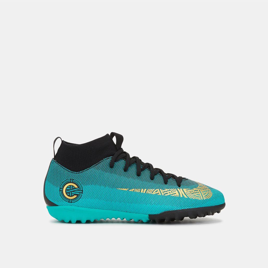 Nike Kids' MercurialX Superfly 6 Academy CR7 Turf Football Shoe (Older Kids)