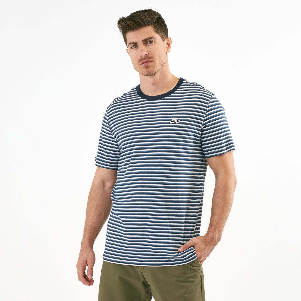 Nike Men's SB Striped Skate T-Shirt