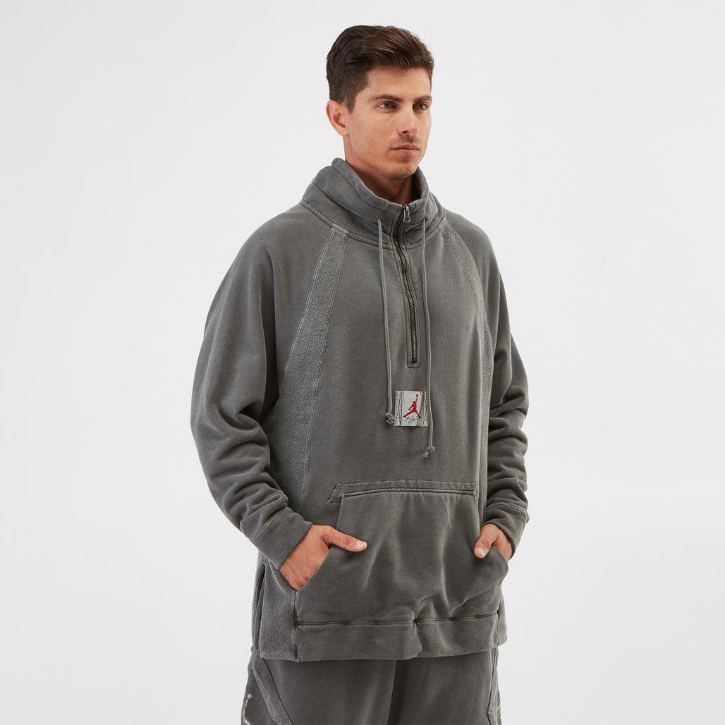 Jordan Sportswear Wings Quarter-Zip Fleece Sweatshirt