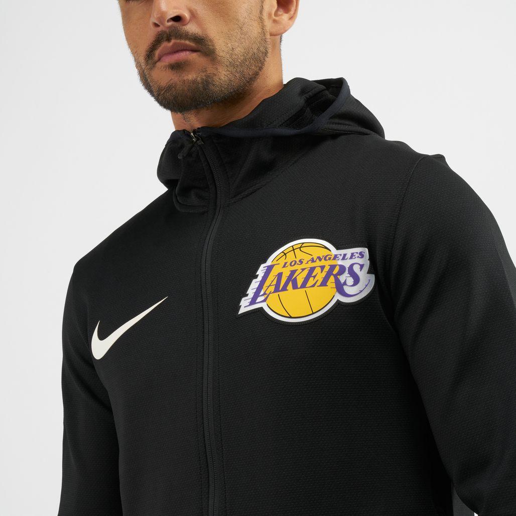 cb0ff5da ... 1401158 Nike NBA Los Angeles Lakers Therma Flex Showtime Hoodie, 1401159