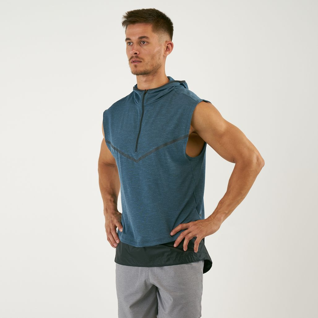 Nike Men's Tech Sphere Sleeveless Hoodie