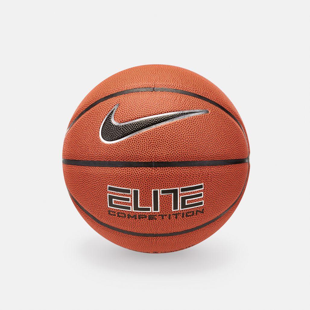 Nike Elite Competition 8P Basketball - Orange