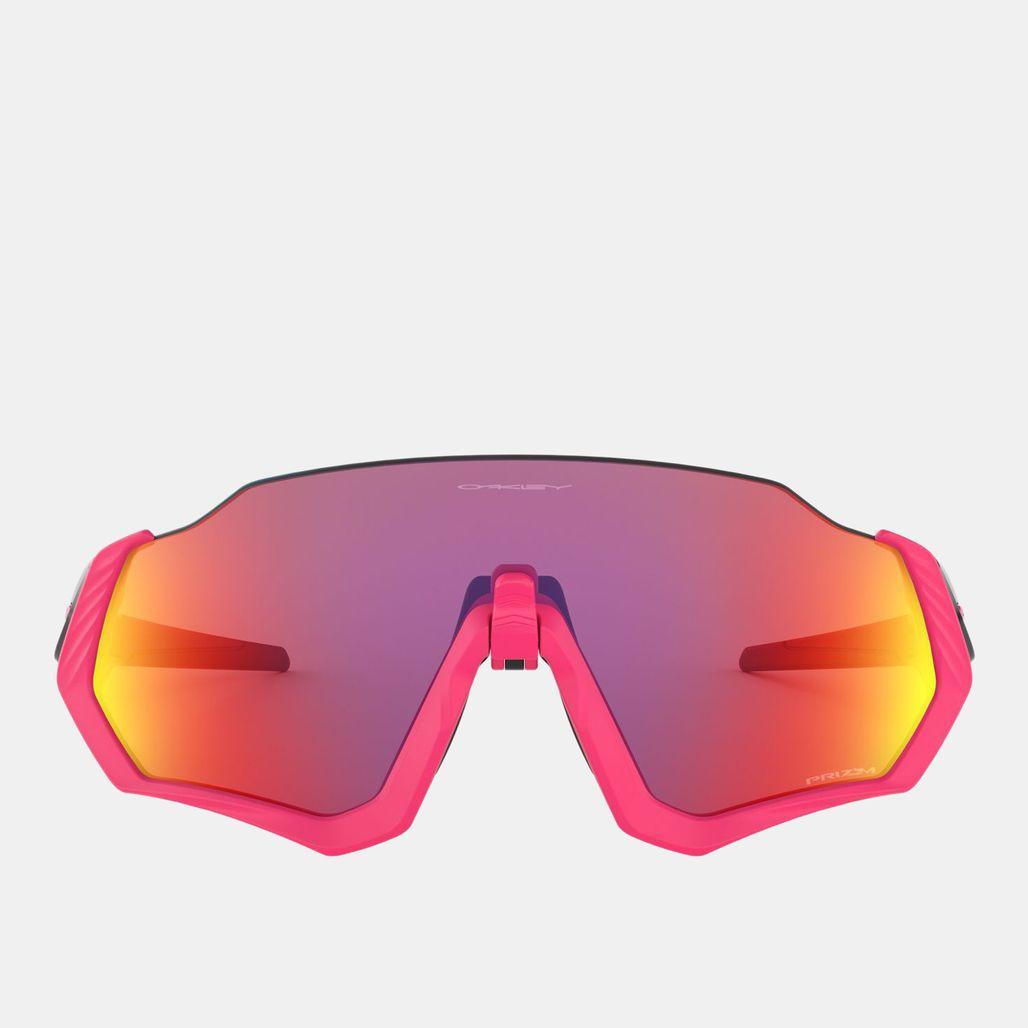 Oakley Flight Jacket Prizm Sunglasses - Pink