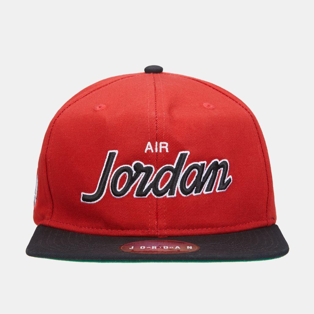 Jordan Men's Pro Script Cap - Red