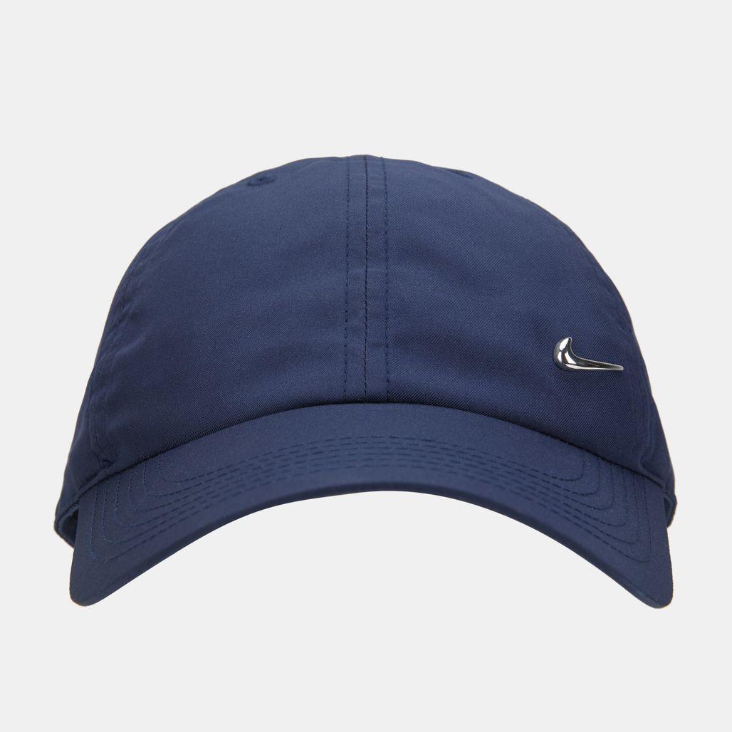Nike Kids' H86 Metal Swoosh Cap (Older Kids) - Blue